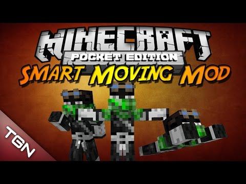 Minecraft PE 0.9.X ModScript | Smart Moving Mod V6 (Español)