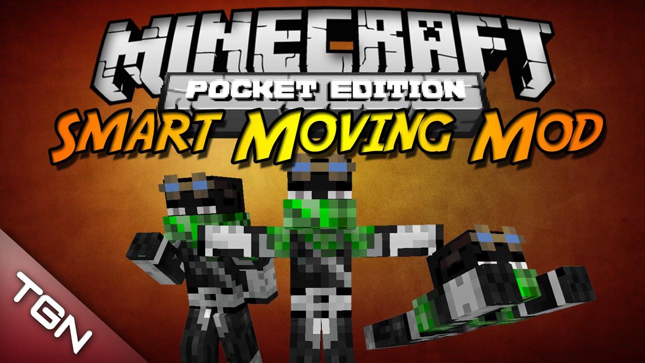 Minecraft pe smart moving mod download