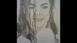 Michael Jackson Drawing (Part 3)