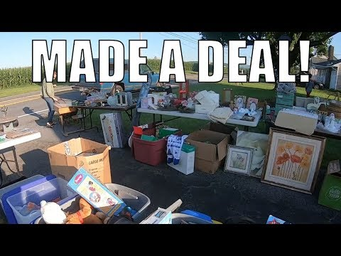 You Don't Want to Miss These Garage Sales...
