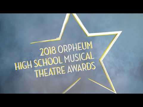 2018 Orpheum High School Theatre Musical Awards Nominations