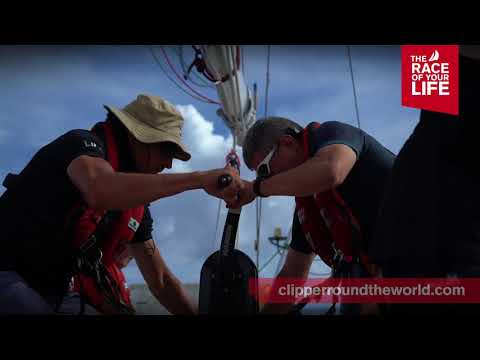 Clipper Race 8: The Sailing City Qingdao Cup Countdown with Elliot Brown