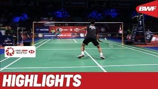 DANISA Denmark Open 2019 | Round of 16 MS Highlights | BWF 2019