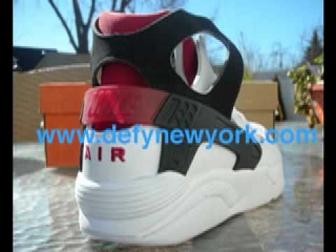 low priced d6102 1fb36 Nike Air Flight Huarache Retro 2003 White/Black/Red Review