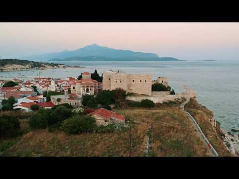 First flight with DJI Spark @ Samos, Greece