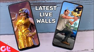 Top 7 Latest Live Wallpaper Apps for Android in 2021 | Zabardast Animations | GT Hindi screenshot 5