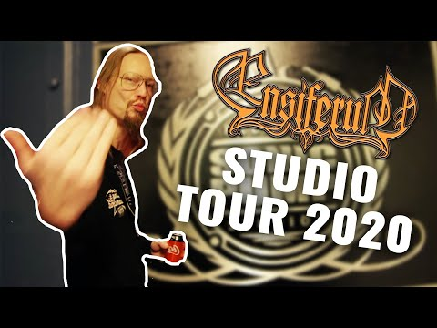 Studio tour with Ensiferum (2020)