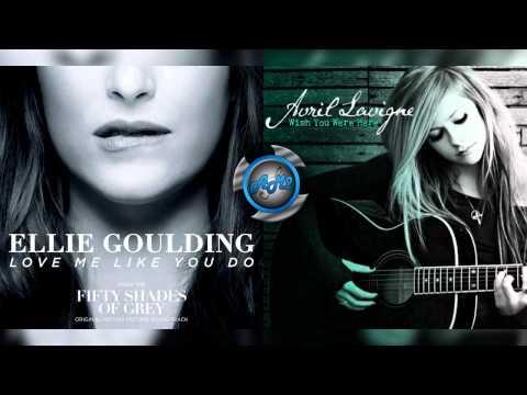 Avril Lavigne Vs Ellie Goulding - Love me like you were here (Mashup)