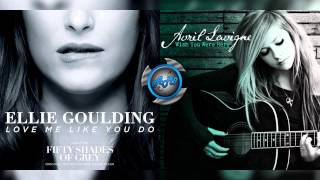 Download lagu Avril Lavigne Vs Ellie Goulding Love me like you were here MP3