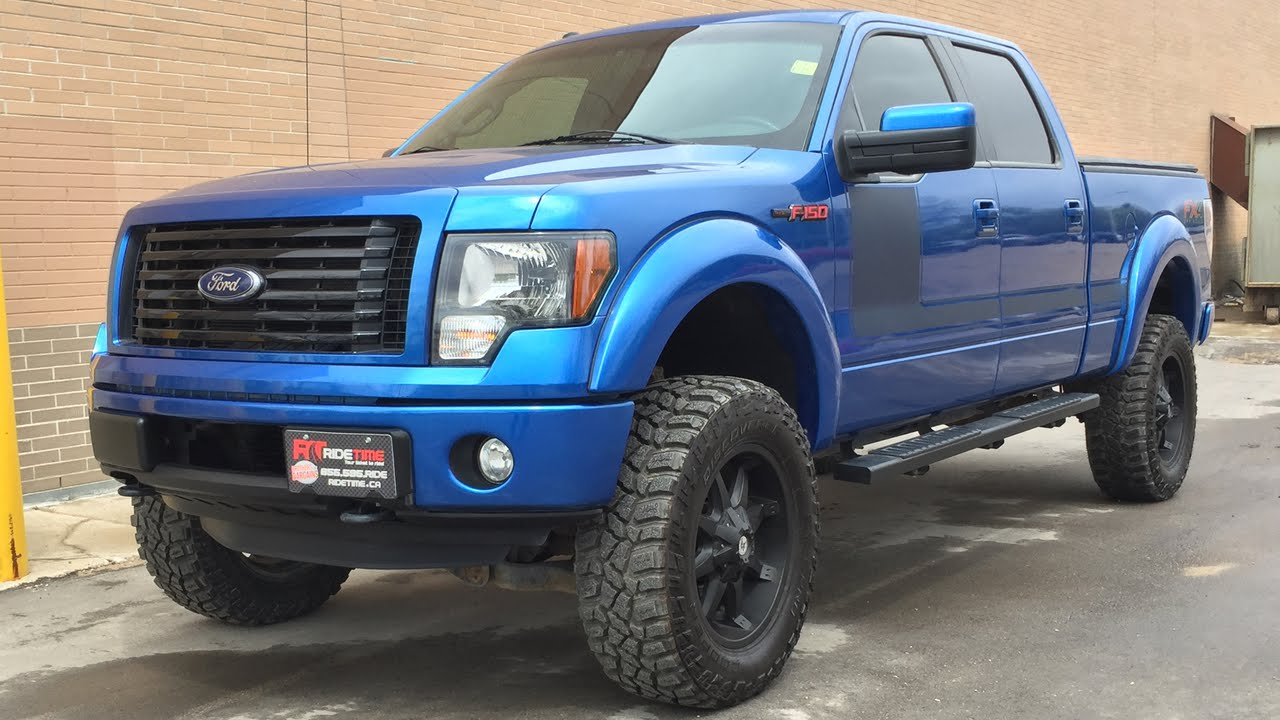 lifted 2012 ford f 150 fx4 4wd by rtxc canada youtube. Black Bedroom Furniture Sets. Home Design Ideas