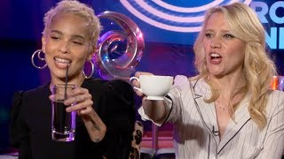 Rough Night  Cast Share Hilarious Drunk Peeing Stories & Takes Shots in Spanish