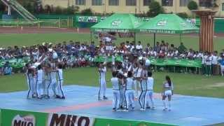 MILO CHEERDANCE 2013 - University of Visayas
