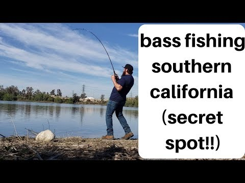 Southern California Bass Fishing | Secret Spot!!