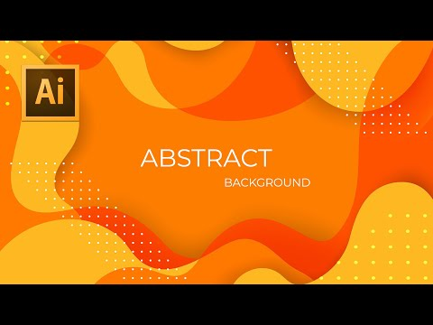 Illustrator Tutorial - Flat Wave Abstract Design Tutorial thumbnail