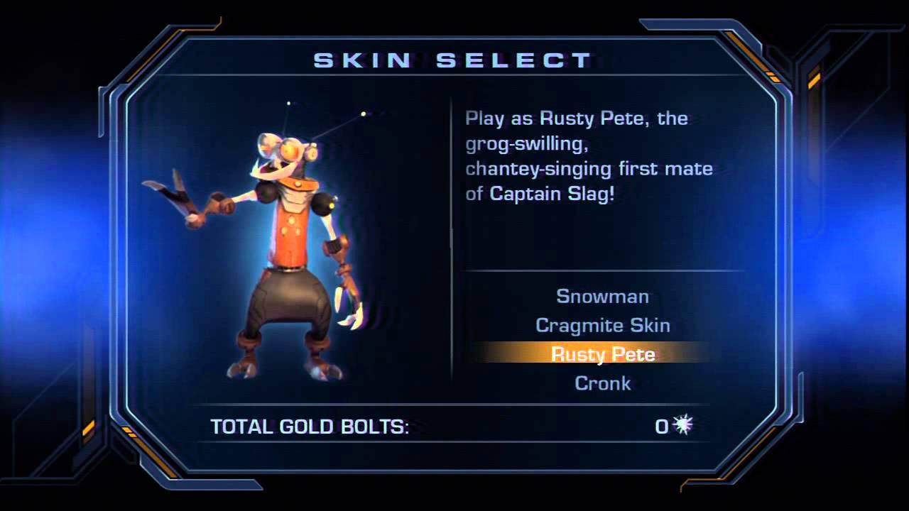 71 Ratchet Clank Future Tools Of Destruction Skins Youtube