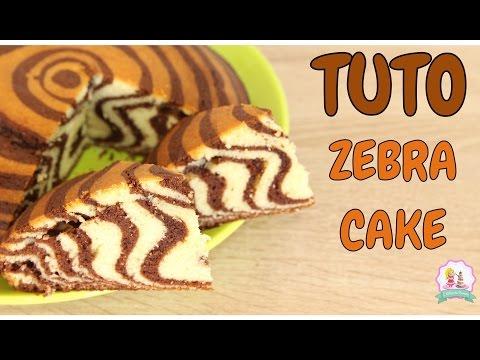 ♡•-recette-gateau-zebrÉ-moelleux-et-facile---how-to-make-a-zebra-cake-•♡