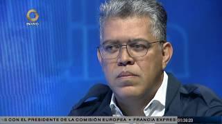 Elías Jaua: Ayer se produjo un gran voto castigo contra la oposición (3/5)