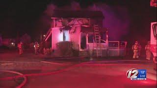 Overnight fires in Warwick neighborhood ruled arson