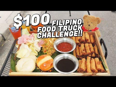 Lola's Lumpia $100 Filipino Food Truck Challenge!!