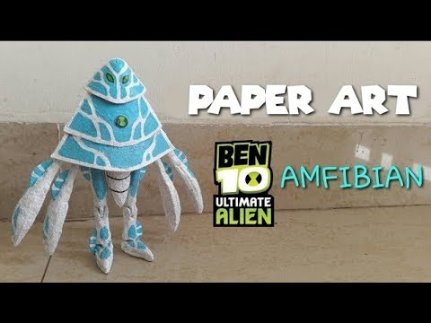 How to make your own Ben 10 Ultimate alien AmpFibian