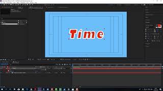 Как создать таймер за 1 мин. 16 сек. в After Effects