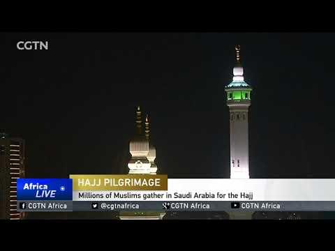 Millions of Muslims gather in Saudi Arabia for the Hajj
