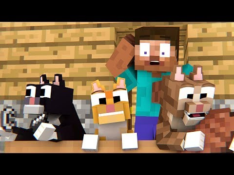 Little Kittens Life - Minecraft Animation