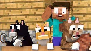Little Kittens Life - Minecraft Animation