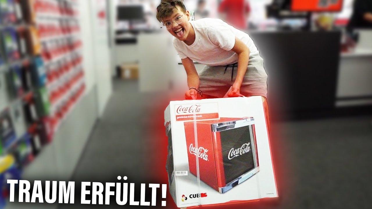 Mini Kühlschrank Fürs Zimmer : Mein eigener cola kÜhlschrank für mein zimmer 😍 youtube