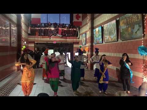 Best Bhangra Performance | Diwali Celebration | Cape Breton University, Sydney, Nova scotia