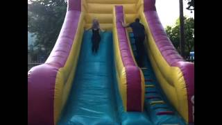 Little Mix Perries Birthday  Bouncey House