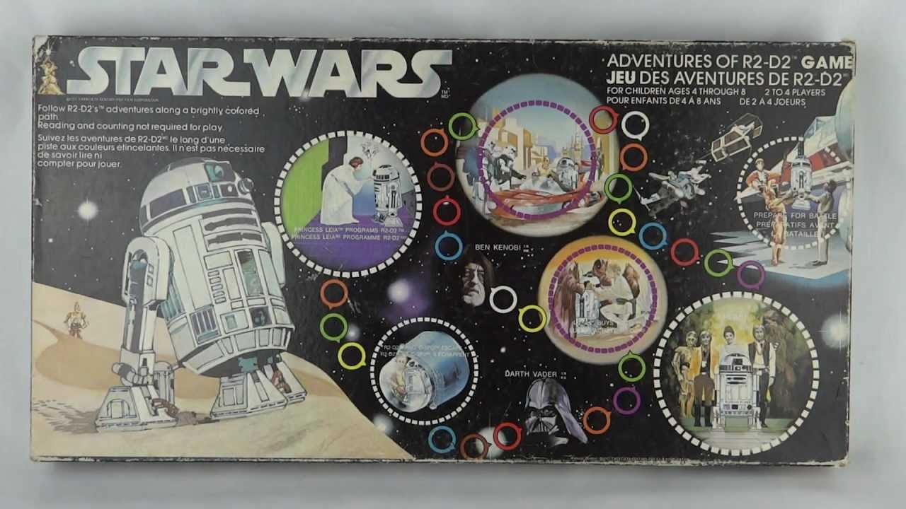 Star Wars - Vintage Adventures of R2-D2 board game - YouTube
