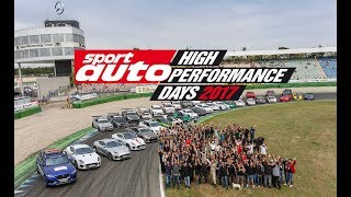 High Performance Days 2017 am Hockenheimring | sport auto