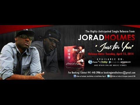 Jorad Holmes~ WORLD PREMIERE JUST FOR YOU -Joshua's House for Christian Artists 4/16/14