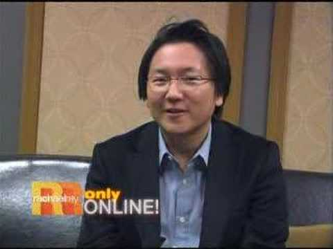 Heroes' Masi Oka Backstage at Rachael Ray
