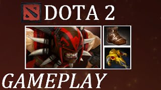 Dota 2 A Very Painful Game (Bloodseeker Gameplay Commentary)