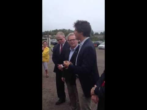Trudeau speaks in Nova Scotia