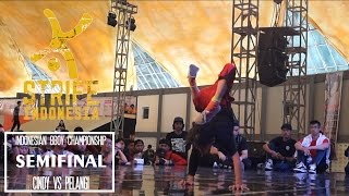 CINDY VS PELANGI | SEMIFINAL BGIRL BATTLE - IBC 2015 | STRIFE.TV INDONESIA