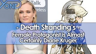 Diane Kruger is Almost Certainly Death Stranding's Female Protagonist thumbnail