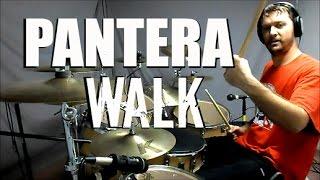 PANTERA - Walk - Drum Cover