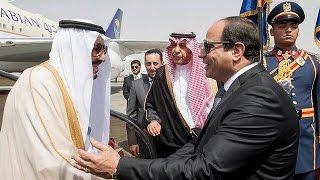"""مشروع إنشاء جسر يربط """"جمهورية مصر العربية"""" ب""""المملكة العربية السعودية""""    8-4-2016"""