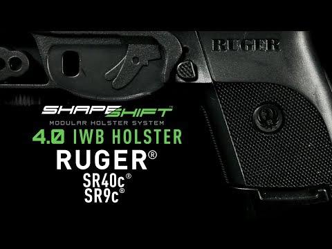 Ruger SR40c IWB Holster For Concealed Carry - Alien Gear Holsters