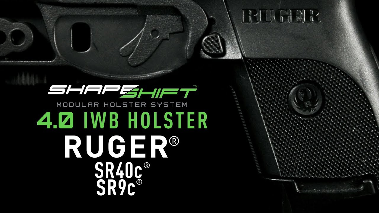 Ruger SR40c IWB Holster for Concealed Carry - Alien Gear Holsters
