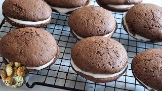 ВУПИ ПАЙ бисквитное шоколадное печенье с кремом/Whoopie Pies