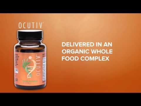 Powerful Organic Whole Food Eye Supplement (Ocutiv)