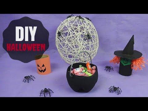 DIY 7 decorações incríveis de Halloween! Por Pricity.