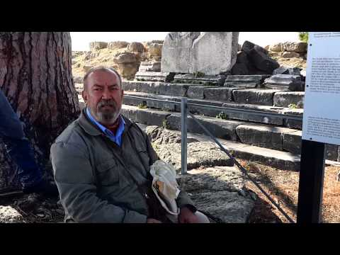 Ark Şükrü tül / Büyük sunak / Pergamon
