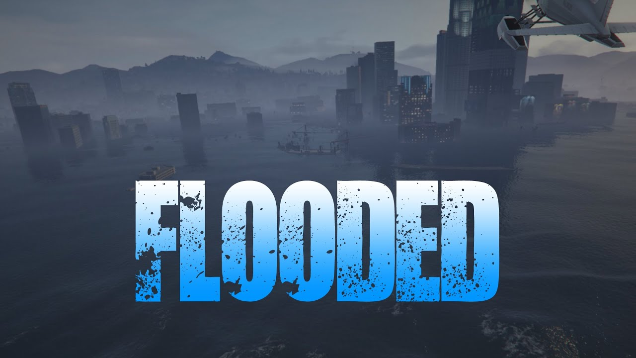 GTA V: Flooded - I'm trying something very different than my other videos, with a different take on the Tsunami mod. Please let me know what you think.