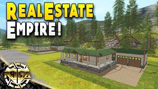 REAL ESTATE EMPIRE w/ CITY ECONOMY : Farming Simulator 17 Gameplay : American Outback EP 8
