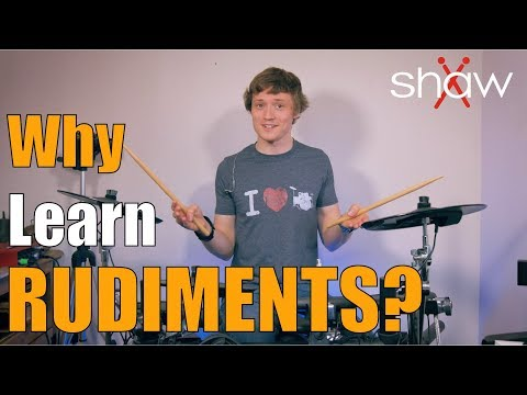 Why Should You Learn Rudiments? Drum Lesson: Harry Weston-Cottrell